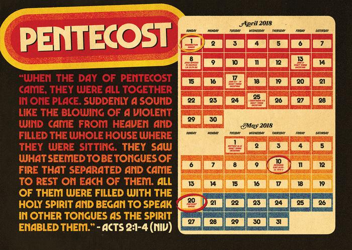 Pentecost 2018 poster 1