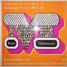 <cite>Mozart Violinkonzerte, </cite>Musical Masterpiece Society