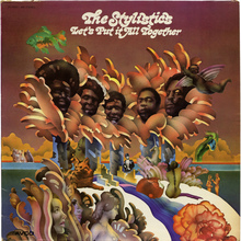 The Stylistics – <cite>Let's Put It All Together </cite>album art