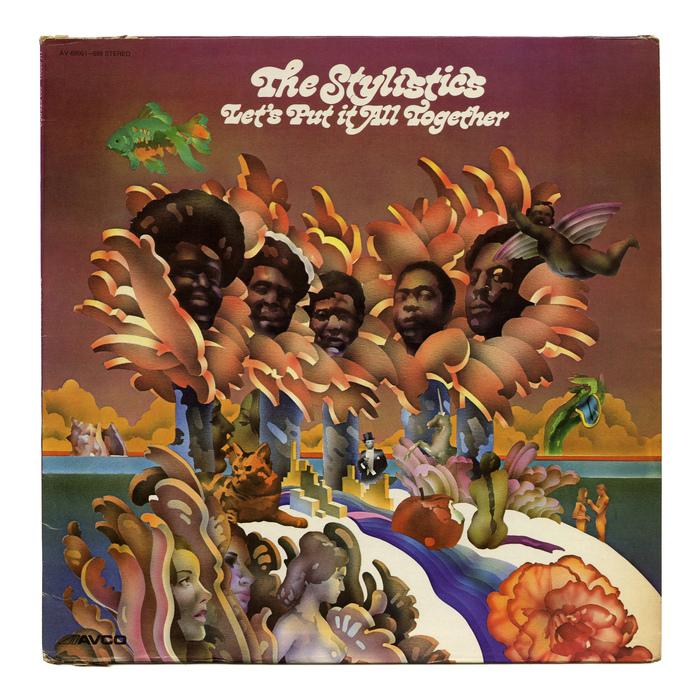 The Stylistics – Let's Put It All Together album art
