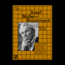 Josef Müller-Brockmann poster