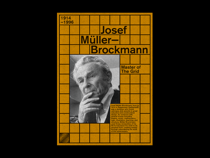 Josef Müller-Brockmann poster 1
