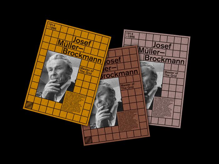 Josef Müller-Brockmann poster 2