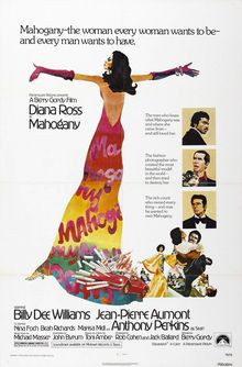 <cite>Mahogany</cite> (1975) movie poster &amp; quad