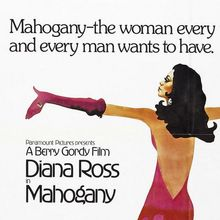 <cite>Mahogany</cite> (1975) movie poster & quad