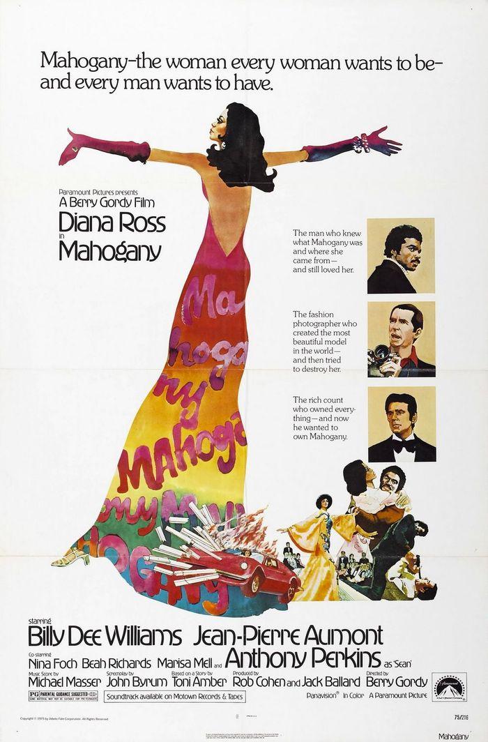 Mahogany (1975) movie poster & quad 1