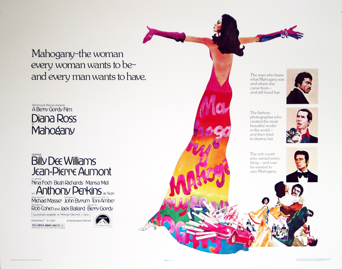Mahogany (1975) movie poster & quad 2