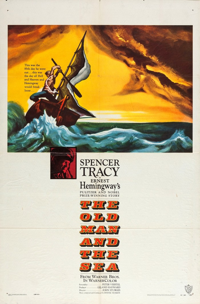 The Old Man and the Sea (1958) movie posters 1