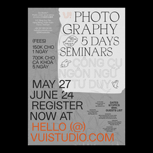 Photography seminars, VUI studio