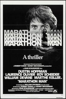 <cite>Marathon Man</cite> (1976) movie poster