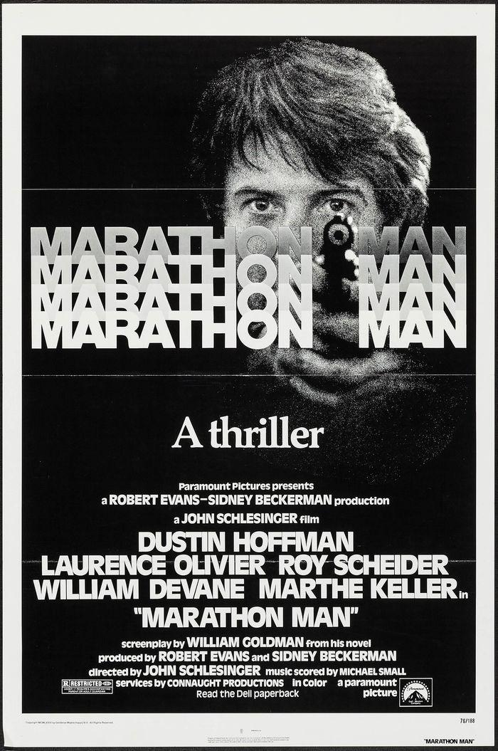Marathon Man (1976) movie poster