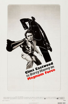 <cite>Magnum Force</cite> (1973) movie poster