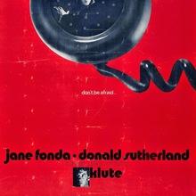 <cite>Klute</cite> (1971) movie poster