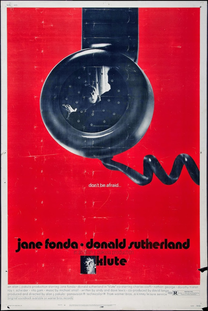 Klute (1971) movie poster 1