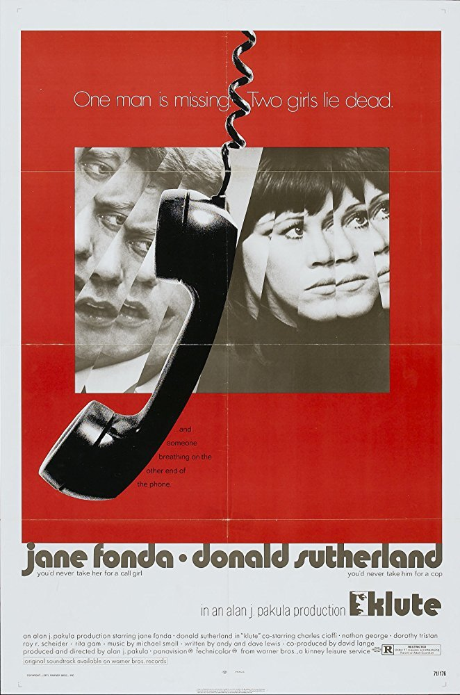 Klute (1971) movie poster 3