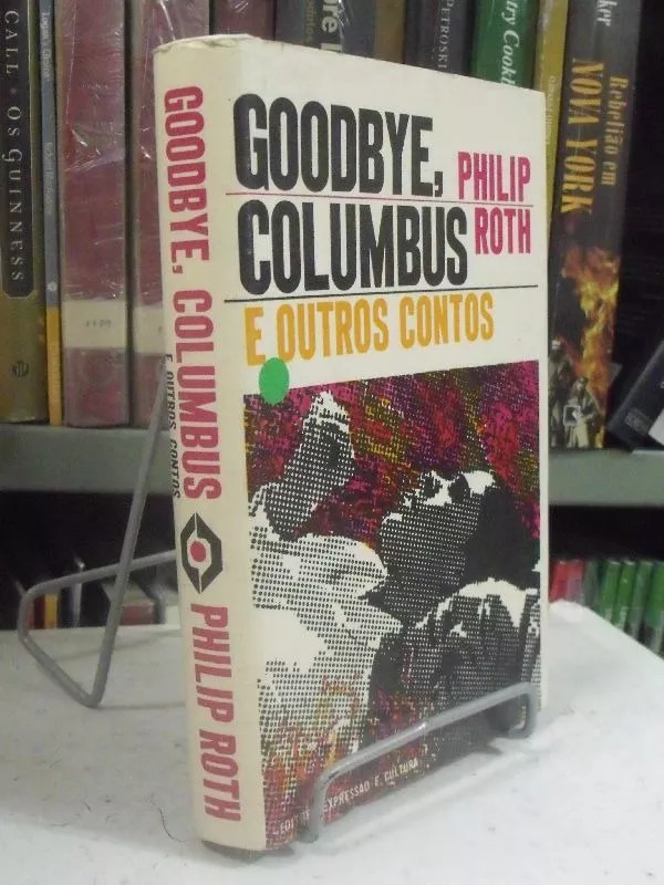 Goodbye, Columbus by Philip Roth, Brazilian edition 3