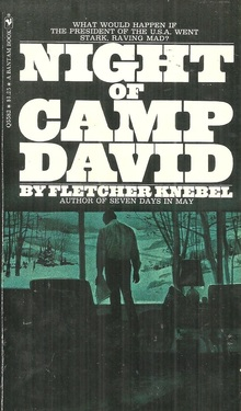 <cite>Night Of Camp David</cite> by Fletcher Knebel (Bantam)