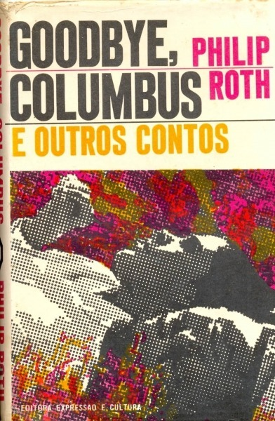 Goodbye, Columbus by Philip Roth, Brazilian edition 1