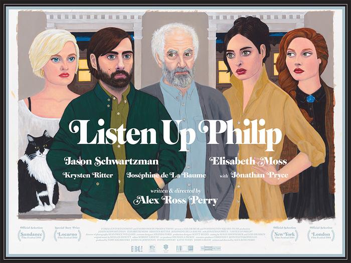 Listen Up Philip (2014) movie poster 2