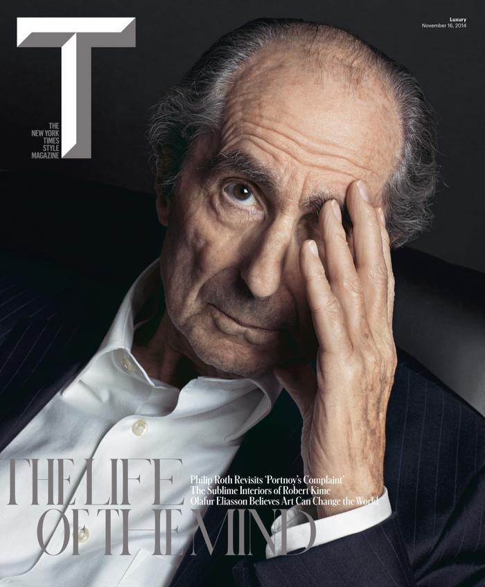 "T Magazine, ""The Life Of The Mind"", Nov 2014"