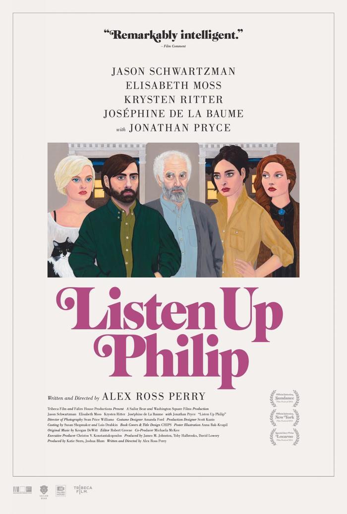 Listen Up Philip (2014) movie poster 1