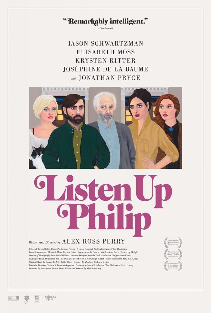 Listen Up Philip (2014) movie poster 1