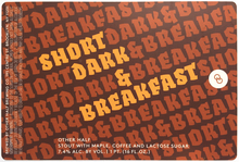 Short Dark stout series by Other Half