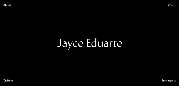 Jayce Eduarte website 4