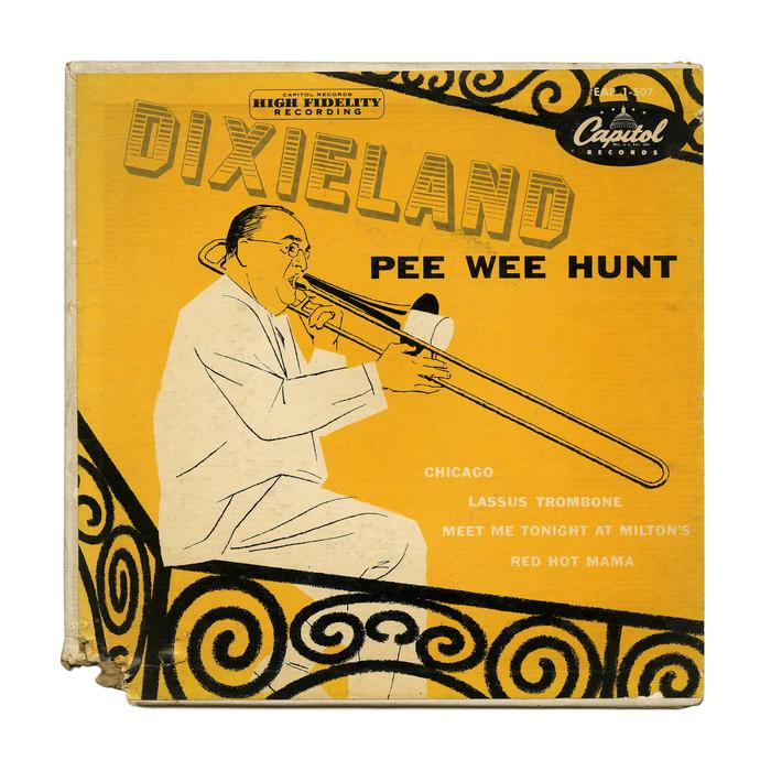 Pee Wee Hunt – Dixieland album art