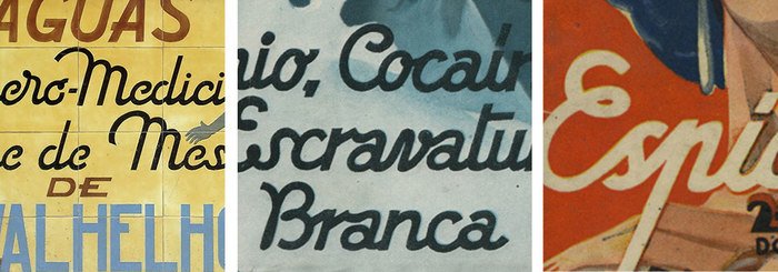 """The custom wordmark is a monoline script with a """"geometric"""" look and slight art deco overtones. It takes inspiration from the vintage hand lettering of the Italian 1930s, also very popular in the Portuguese visual culture. Its style corresponds to a handwriting tool – the square stroke ending recalls the broad-nib pen."""