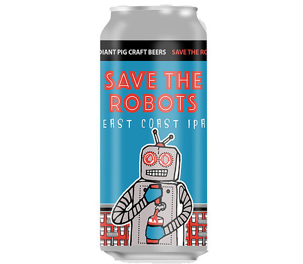 Save The Robots IPA by Radiant Pig Beer 2