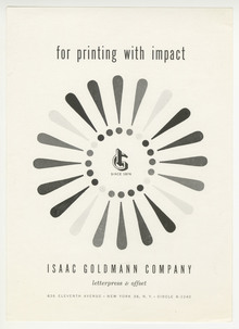 Isaac Goldmann Company ads