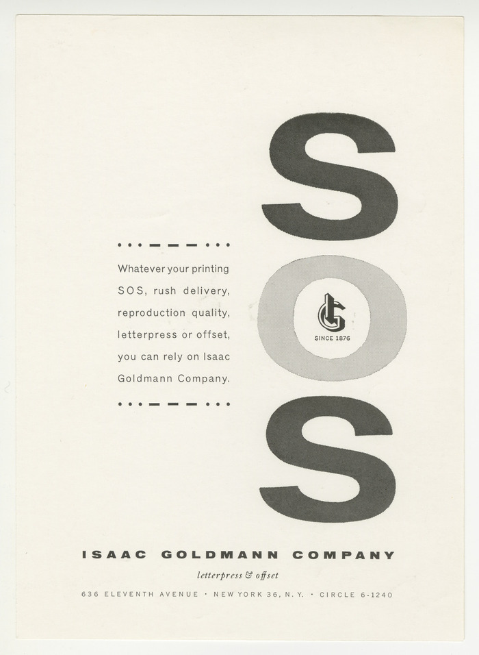 Isaac Goldmann Company ads 4