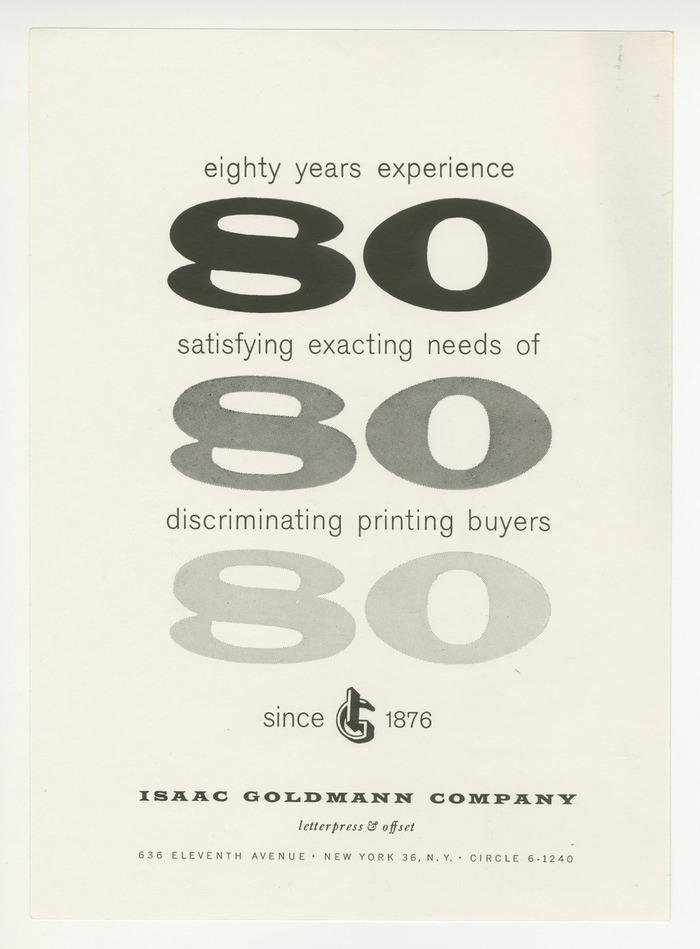 Isaac Goldmann Company ads 3