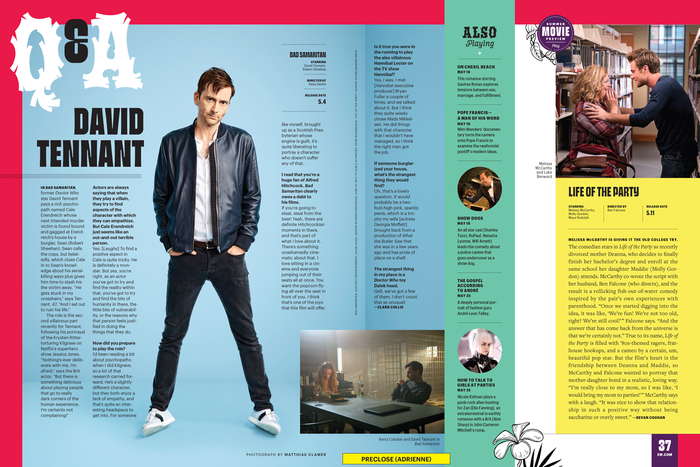 Entertainment Weekly, 27 Apr 2018 1
