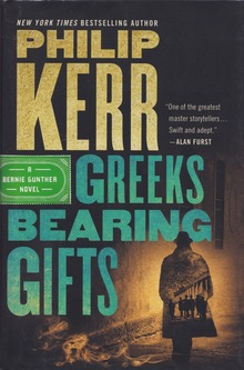 <cite>Greeks Bearing Gifts</cite> and <cite>Prussian Blue</cite> by Philip Kerr