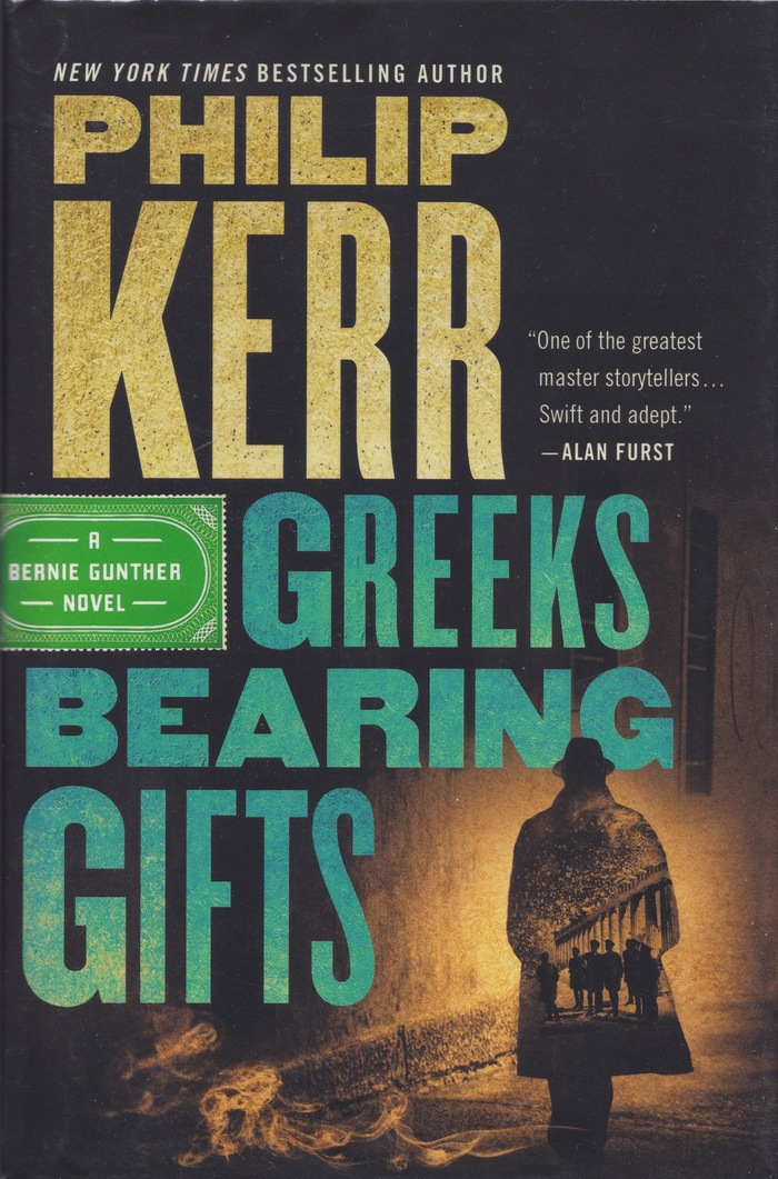 Greeks Bearing Gifts and Prussian Blue by Philip Kerr 1