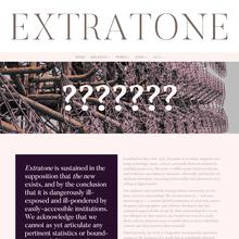 The Extranet (<cite>Extratone</cite>)