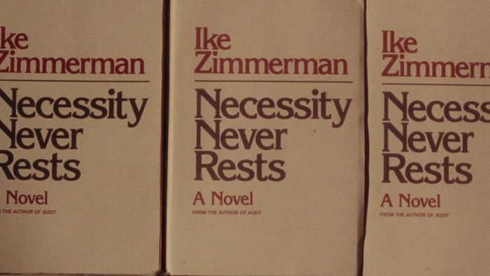 Ike Zimmerman's Some People Are Decent, all set in ITC Bernase Roman.