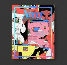 """<cite>Anxy</cite> magazine No. 2, """"The Workaholism Issue"""""""