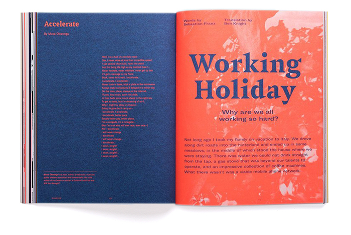 "Anxy magazine No. 2, ""The Workaholism Issue"" 4"