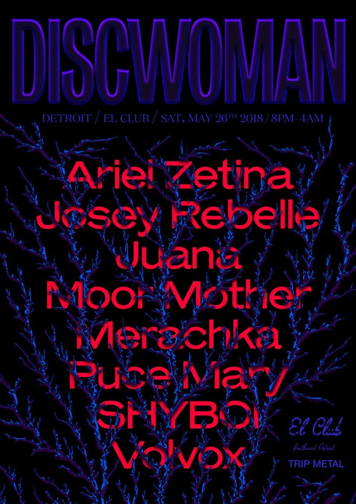 Discwoman gig poster