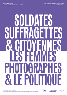 """Soldates, Suffragettes & Citoyennes"" poster"