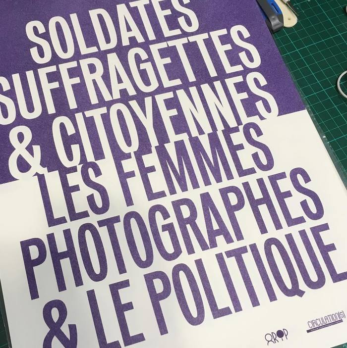 """Soldates, Suffragettes & Citoyennes"" poster 2"