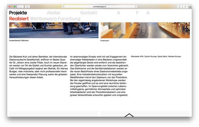 Atelier für Architektologie 7