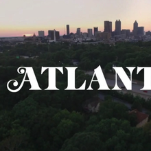 <cite>Atlanta</cite> (FX Series) logo and opening titles