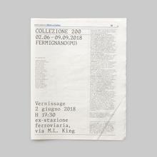 Collezione 200 for ISIA Urbino