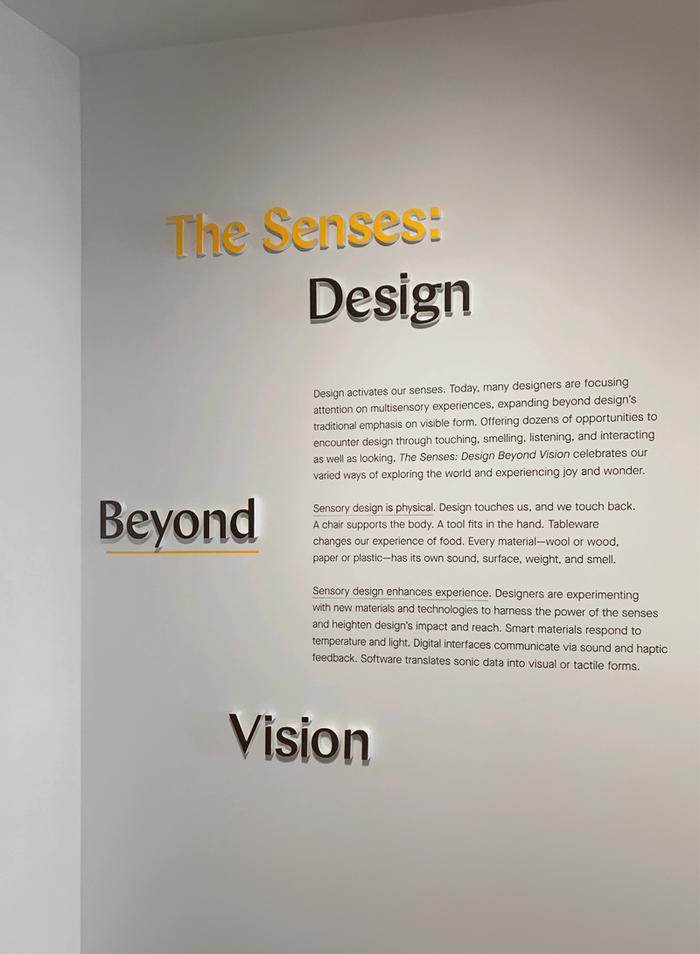 The Senses: Design Beyond Vision 5