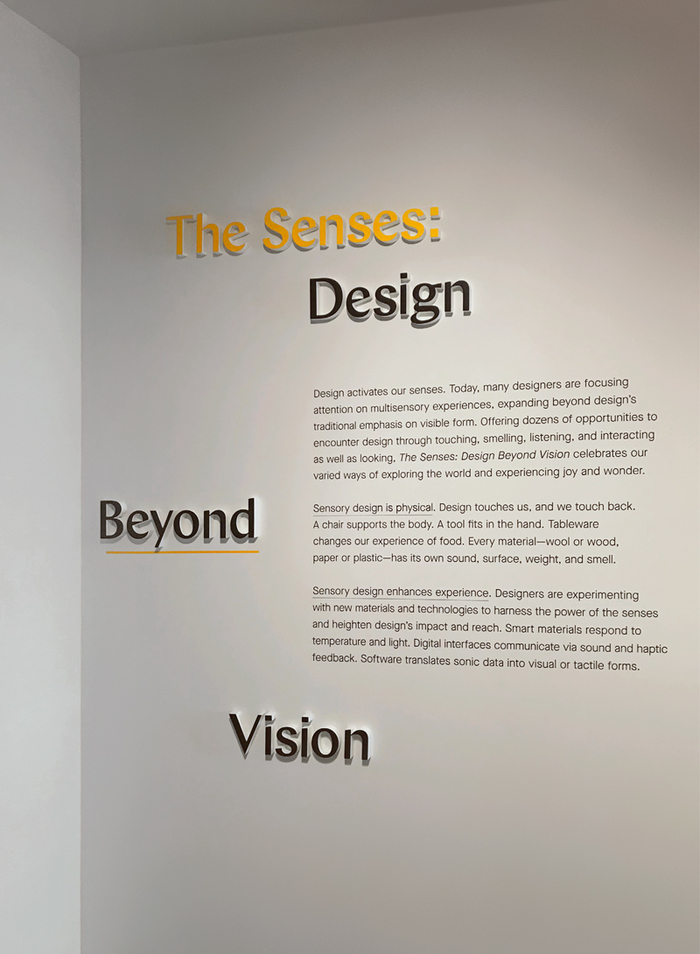 The Senses: Design Beyond Vision 5