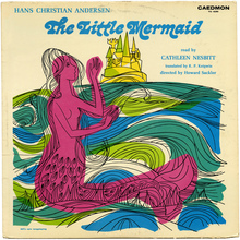 <cite>The Little Mermaid </cite>album art